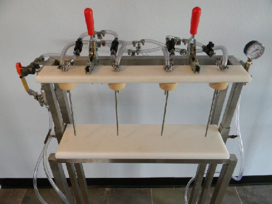 4 Head Bottle Filler